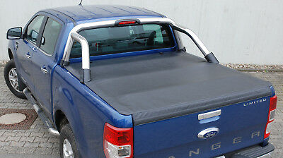 vw amarok mit stylingbar laderaumabdeckung soft flexi. Black Bedroom Furniture Sets. Home Design Ideas