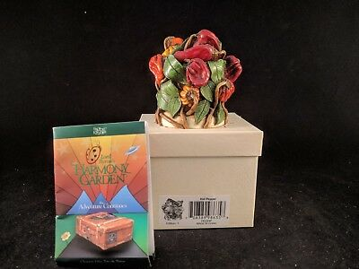"Harmony Kingdom Lord Byron's Harmony Garden ""HOT PEPPER"" MIB SIGNED"