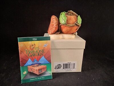 "Harmony Kingdom Lord Byron's Harmony Garden ""ORANGE"" MIB SIGNED"