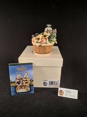 "Harmony Kingdom Lord Byron's Harmony Garden ""FALL BOUQUET"" MIB LE 3600"
