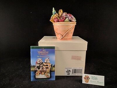 "Harmony Kingdom Lord Byron's Harmony Garden ""SUMMER BOUQUET"" MIB"