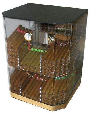 Franklin Standard Acrylic Counter Top 150 Cigar Display Humidor - Ships Free