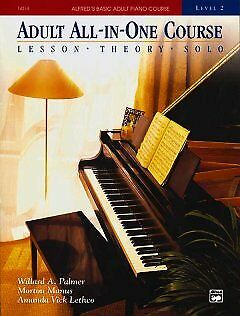 Adult All-In-One Piano Course - NEW - 9780882849959 by Palmer, Willard A./ Manus