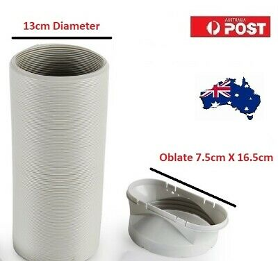 New Portable Air Conditioner Spare Parts Outlet Oblate Gob + Hose - FREE DELIVER