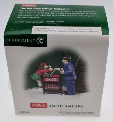 A Coke For You and Me Department 56 2004 Christmas Village Coca-Cola 56.59430