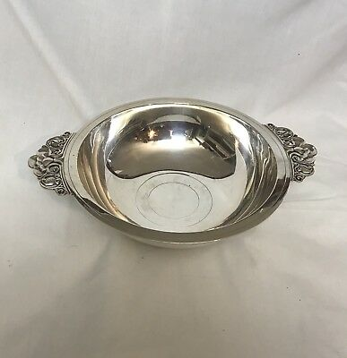 Authentic Tiffany & Co Sterling Silver 1940th  Bowl With Handles