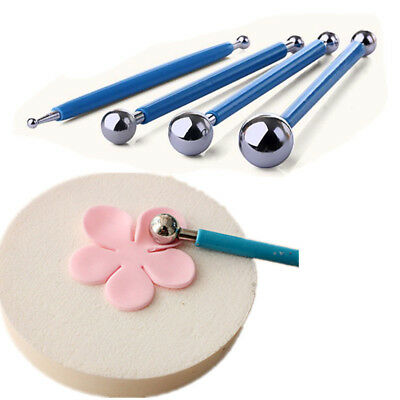 4X Modelling Ball Detail Tools Set Shape Smooth Detail Sculpey Tool Polymer Clay