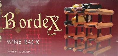 Genuine BORDEX 12 Bottle WINE Rack MODULAR Unused BOXED QZZQ Adelaide