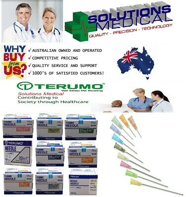 TERUMO  Disposable Neolus Hypodermic Needles 18/19/20/21/22/23/25/26/27 Gauge