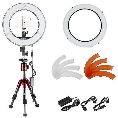 Neewer 14-inch 36W Dimmable 180 LED Ring Light and Tabletop Tripod Lighting Kit