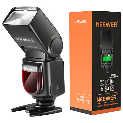 Neewer NW610 Flash Speedlite Kit with IR Remote Control Softbox for Canon Nikon