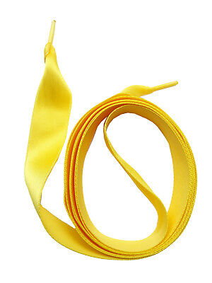 LACETS de SATIN - JAUNE - 4 longueurs - Dentelles - SNORS shoefriends