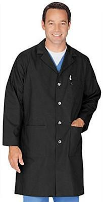 Meta Men's and Women's Unisex 40 Inch Labcoat With Three Outside Pockets And One