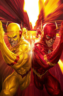 "The Flash  Reverse Flash Zoom Arrow Grodd 7"" x 5"" Photo Prints by Stanley Lau"
