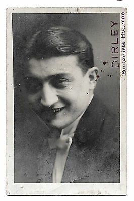 Cpa B91 Dirley Fantaisiste Moderne Artiste Spectacle Cabaret Music-Hall Stage