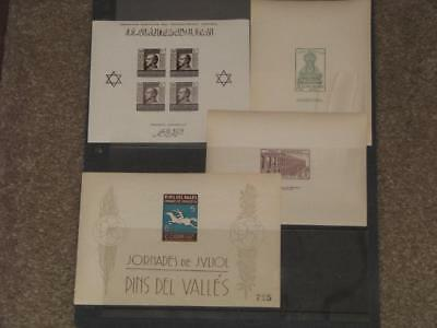 Spain Civil War Souvenir Sheets, all MNH