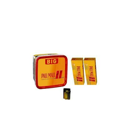 1x Pall Mall Big Box Tabak Eimer+2 x Pall Mall Allround Hülsen 1x Etui 2x Feuer