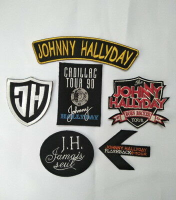 ECUSSON PATCH johnny hallyday