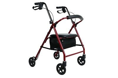 Four Wheeled Mobility Walker - Rollator - FREE POSTAGE