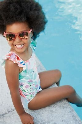 NEXT Baby Girls Floral Swimsuit - BNWT
