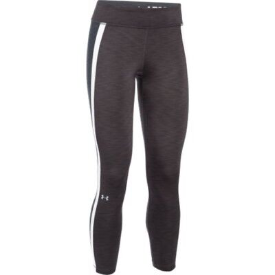 Under Armour 1282887-090 Women's ColdGear Ankle Biter Legging - Carbon-Large