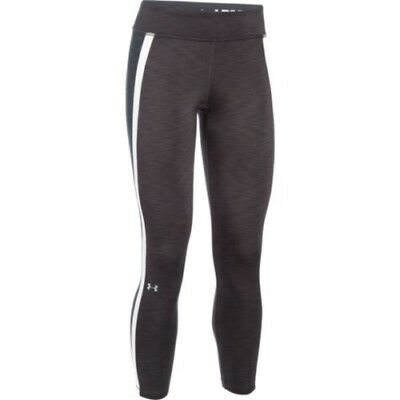 Under Armour 1282887-090 Women's ColdGear Ankle Biter Legging - Carbon-X-Large