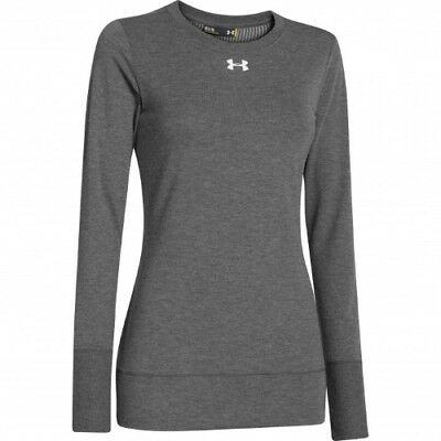Under Armour Infrared ColdGear Crew - Women's - Carbon - S - 1259042-090