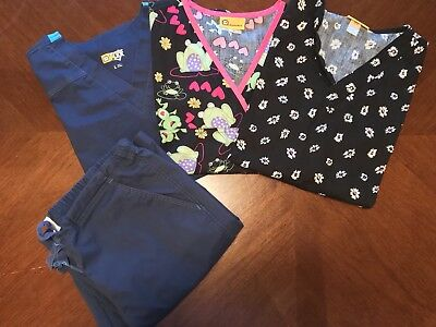 Womens WonderWink Scrubs Lot