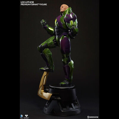 SIDESHOW Superman Lex Luthor Power Suit Premium Format Figure Statue NEW SEALED