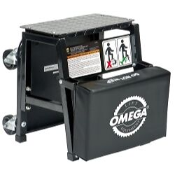 Omega 91305 2-n-1 Mechanics Creeper Seat/Step Stool