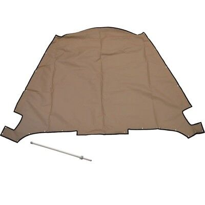 Lund Boat Bow Cover 2158236 | 1875 Crossover Beige