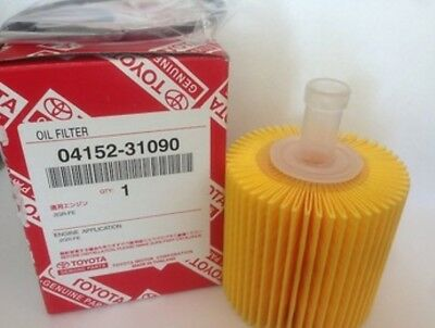 Toyota Oil Filter 04152-31090 100% Genuine Suits R2648P