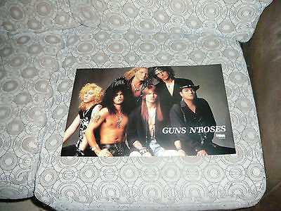 KEANU REEVES GUNS N' ROSES AXL ROSE PIN UP POSTER PHOTO AFFICHE 11 x 16 CLIPPING