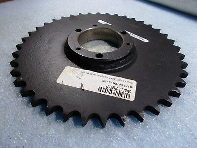 "New Martin 50SDS40 Roller Chain Sprocket 40 Teeth 2-5/32"" Dia Bore Hole"