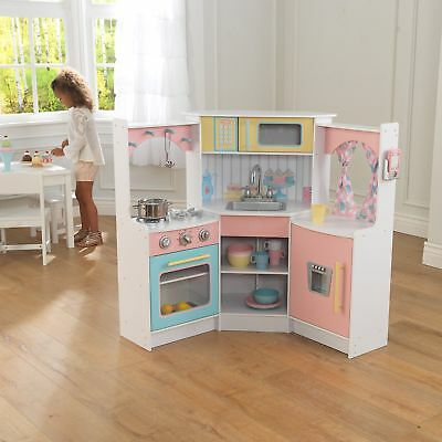 Kidkraft Large Play Kitchen With Lights Amp