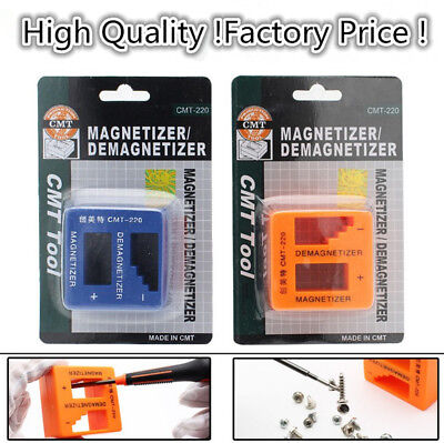 Magnetizer Demagnetizer Magnetic Tool For Screwdriver Tips Screw Bits Pick Up HX