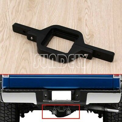 Tow Hitch Light Mounting Bracket Dual LED Reverse Rear Work Lamp Light Offroad