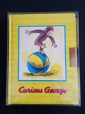 Vintage 1998 Curious George Diary with Key ***New Old Stock in Box