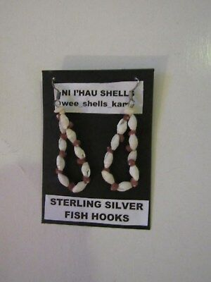 Niihau shell earrings