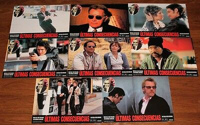 Vincent Gallo 8 lobby cards Truth or Consequences Kiefer Sutherland Kim Dickens