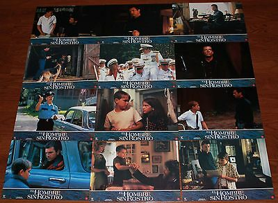 Mel Gibson Man Without a Face Spanish lobby card set 12  Nick Stahl child actor