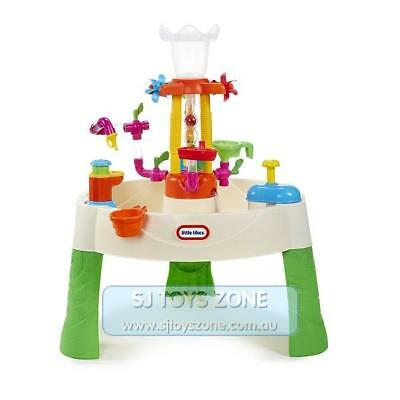 Little Tikes - Fountain Factory Water Table Toddler Fun Outdoor Pretend Play