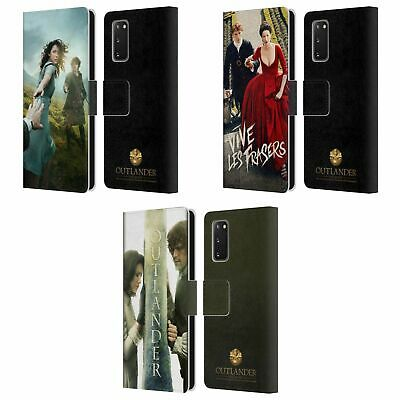 Official Outlander Key Art Leather Book Wallet Case Cover For Samsung Phones 1