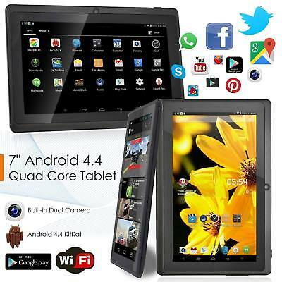 7 pollici Android 4.4 A33 Quad-core Tablet PC 8GB WIFI BLUETOOTH HD