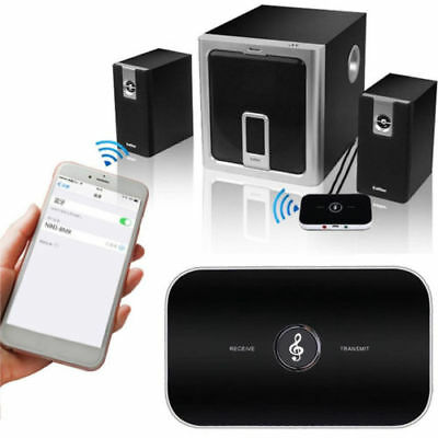 Wireless Bluetooth 2 in1 Audio Transmitter and Receiver 3.5MM RCA Adapter