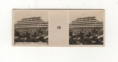 Wills Australia 1908  - The Grand Stand on Derby Day, Epsom, Melbourne