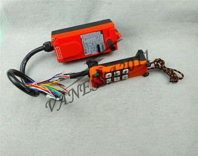 F21-E1 Single Emitter Hoist Crane Radio Wireless Remote Control AC380V New