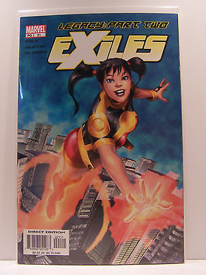 Marvel Comics Exiles 21 Resealable Comic Bag and Board