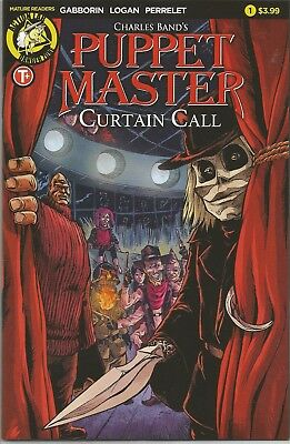 PUPPET MASTER CURTAIN CALL (2017) #1A Back Issue (S)
