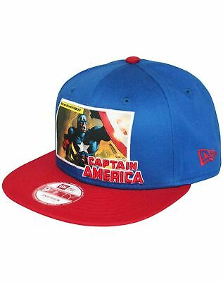 New Era 9Fifty Comic Panel Captain America Snapback Cap